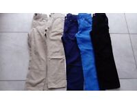 5 pair of boys trousers 7 - 8 years old
