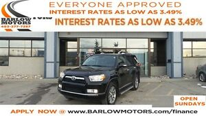 2013 Toyota 4Runner SR5 V6 (A5) limited *EVERYONE APPROVED*
