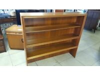 Mid Century Bookcase / Shelving Display Unit