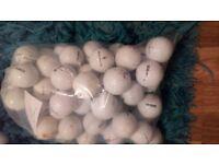 60 mixed wilson staff golf balls