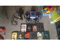 Gamecube with games and more