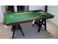 6ft Pool table can deliver free in Glasgow and Ayrshire