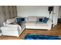 Right hand corner sofa with Armchair
