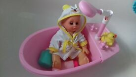 Bath Doll with working shower