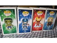 Funko pops avengers set