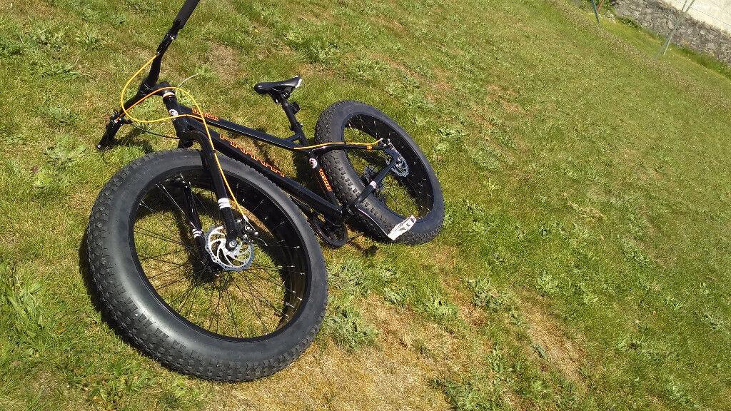 271353a78f3 Piranha Fatfish Fat Bike 17inch, medium - As New | in Peterculter ...