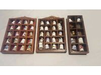50+ Assorted Thimbles