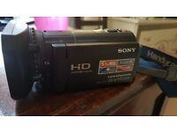 Sony Handycam CX570 Full HD Flash Memory Camcorder 3 yr old