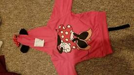 Beand new with tags minnie mouse hoody