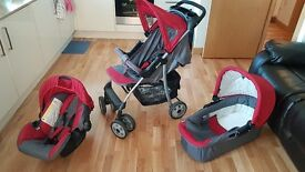 3 in 1 Hauck Shopper Pram in Excellent condition