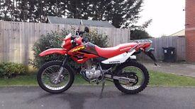 Honda xr125l enduro road legal dirt bike