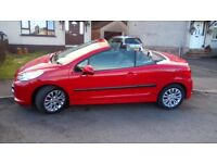 Peugeot 207cc with full mot low millage