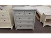 Maine Grey 3+2 Drawer Chest By Julian Bowen Can Deliver