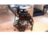 Wheelchair Enigma sd2 wheelchair with power stroller. hardly used in excellent condition