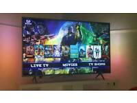 49inch 4k ambilight smart tv