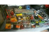 Fishing joblot of end tackle