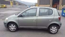 53 plate Toyota Yaris T3 one owner, recent cam belt and service, low miles, 2 keys