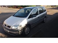Vauxhall Zafira DIESEL with tow bar 7 seater