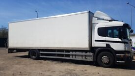 Lorry and driver from £295 a day