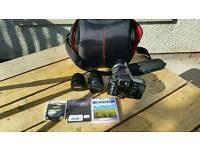 Pentax K20D dslr 14.6MP +3 Lenses +accessories