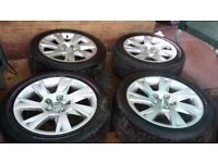 Audi & bmw alloys for sale