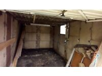 Sectional Concrete Garage for storage. Buyer dismantles and transports for instant cheap Garage