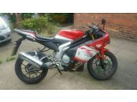 Rieju rs3 125cc sprts bike