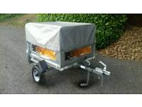 Erde 102 Trailer*High frame and Covers*