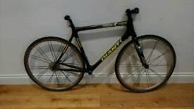 Carbon fibre racing bike