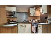 Platinum 3bedroom caravan for hire at Haven Craig Tara