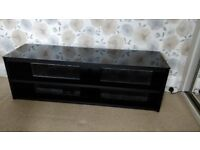 TV Stand (Black) 140cm Wide