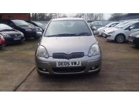 TOYOTA YARIS 1.3 VVTI COLOUR COLLECTION, FSH, 1 OWNER, 2005 REG, 5DR!