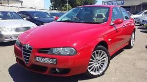 2006 Alfa Romeo 156 Sedan MANUAL, MAJOR SERVICES DONE, WARRANTY Burwood Burwood Area Preview