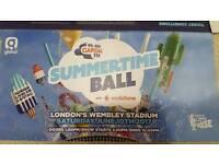 Capital Summertime Ball Pitch Standing Tickets