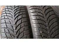 195 55 16 87H 2 x tyres Goodyear UltraGrip 7+
