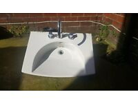 Large bathroom sink