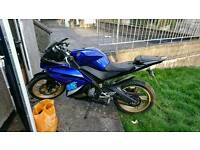 Yamaha yzf r125cc