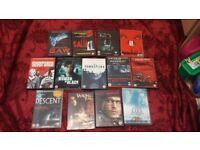 joblot 13 horror dvds £8 the lot