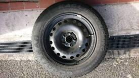 Goodyear tyre 195/65 R15 on Rover 75 steel wheel.