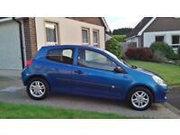 2006 RENAULT CLIO FULL YEARS MOT 1 OCT 2019 EXCELLENT DRIVING WE CAR IDEAL BEGINNERS CAR CHEAP INS