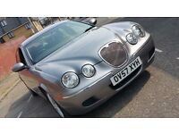 Jaguar S-Type XS 3.0 V6 2007 Automatic saloon Petrol Leather Seats FULL S/History ONE OWNER £3550