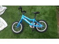 "Ridgeback MX14 blue Boy Girl Bike Kids Childs 14"" Wheel used GOOD CONDITION"