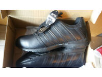 Safety Shoes Trojan K04 Black trainers SIZE 8