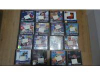 Job Lot of Retro Playstation PS One Games - Crash Bandicoot - Rayman Etc...