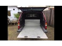 Mazda b2500 or ford ranger double cab slide tray