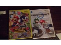 2 wii game's both for £15