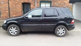 2004 Mercedes ML 350 W163 great condition