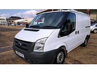 Finance -£126p/m-Ford Transit Van 2.2 300 SWB Low Roof-1 Owner XBT-FSH -39k-1Yr MOT-Warranty 260 280