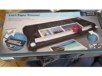 2-1 Paper Trimmer and Guillotine