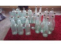 24x old wine bottles